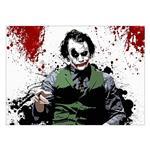 تابلوی ونسونی طرح Painted Joker سایز 30 × 40