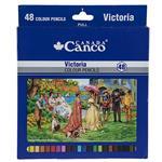 مداد رنگی 48 رنگ کنکو مدل Victoria