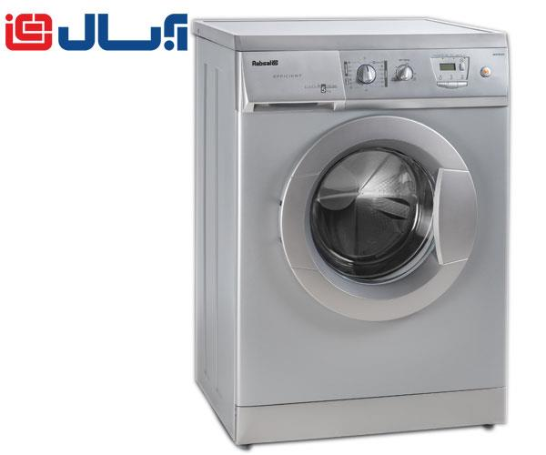 ماشین لباسشویی 5 کیلویی آبسال AES7513 نقره ای
