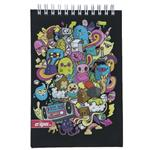 Clips Lovely Monsters Design Notebook