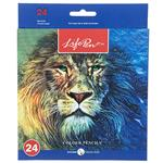 Clips Lion Design Color Pencil