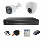 AHD Photon Retail Commercial And Residential Surveillance 2 Camera Network Video Recorder