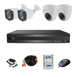 AHD Photon Retail Commercial And Residential Surveillance 4 Camera Network Video Recorder