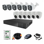 AHD Photon Retail Commercial And Residential Surveillance 12 Camera Network Video Recorder