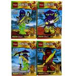 I Toys Ninja100 Building Set 4 Pcs