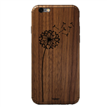 Toast Dandelion Wood Cover For iPhone 6/6s