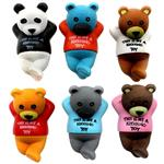 Vate Toys Sleeped Bear Figurs Set 6Pcs