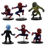 Vate Toys Spiderman Figurs Set 6Pcs