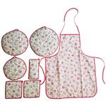 سرویس آشپزخانه 7 تکه ژاو مدل Red Rose
