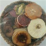 سبد بامبو ۷ میوه خشک وجیسنک ۲۵۰ گرم