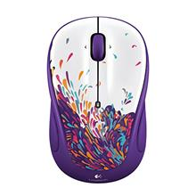 Logitech M325 Exuberance Wireless Optical Mouse