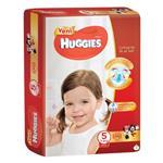 پوشک نوزاد سایز 5 (34 عددی) دخترانه هاگیز Huggies