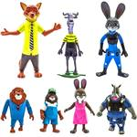 Anatra Zootopia Figure Pack of 7