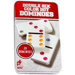Double Six Color Dot Dominoes 28 pcs Intellectual Game