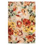 فرش ماشینی پاتریس طرح بهار رنگی زمینه الوان
