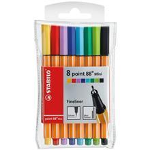 روان نویس Stabilo پوینت 88 مینی 8 رنگ