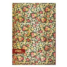 Clips 80 Sheets Flower Design 3 Soft Cover Notebook