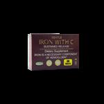 قرص آهن با ویتامین ث  Iron + Vitamin C  برانسون 30 عددی