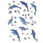 استیکر دکوفان مدل دلفین
