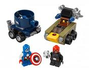 لگو مدل Mighty Micros Captian America vs Red Skull کد 76065