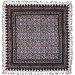 سفره قلمکار ممتاز نرگس خانی طرح ستاره چهارگوش مدل 00-02 سایز 80 × 80