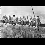 تابلو لابراتوار سهند طرح کارگران آمریکایی 50753 سایز 70 × 50