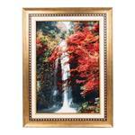 تابلو فرش گالری سی پرشیا طرح منظره آبشار کد 901202