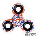 اسپینر سه پره ای طرح انگلستان Fidget Spinner England