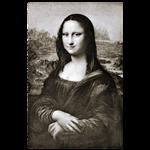 تابلو لابراتوار سهند طرح مونالیزا 6092 سایز 60 × 90
