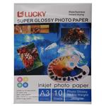 Lucky Super Glossy Photo Paper A3 Pack of 10