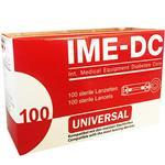 سوزن تست قند خون آی ام ای دی سی مدل UNIVERSAL بسته 100 عددی