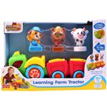 Happy Kid Learning Farm Tractor 4259 Educational Game