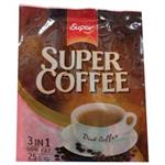 سوپر کافی پودر مخلوط قهوه فوری کم چرب 25 عددی