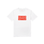 "تی شرت وان پلاس "" هرگز ساکن نمی مانیم "" – OnePlus Never Settle T-shirt"