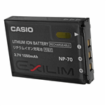 Casio NP70 Li-ion Camera Battery