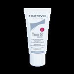 کرم ضد آفتاب بدون رنگ تریو وایت اس SPF 50 مناسب انواع پوست 40 میلیلیتر نوروا