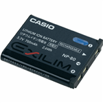 Casio NP80 Li-ion Camera Battery