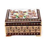جعبه خاتم کاری گالری مند کد MKH59