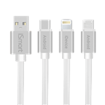 iSmart IM-333 USB to MicroUSB and Lightning Cable 1m