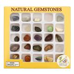 My Smart Family Natural Gemstones 25 pcs Education Kit