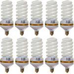 لامپ کم مصرف 55 وات اوکس مدل CFL55X10 پایه E27 بسته 10 عددی