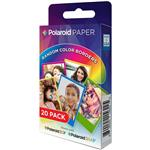 Polaroid 2x3 Inch Rainbow Border ZINK Photo Paper