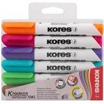 Kores K-Marker XW1 5 Color Whiteboard Marker