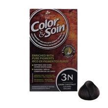 کیت رنگ مو کالر اند سوان سری قهوه ای شماره 3 ان Color-And-Soin-Brown-3N