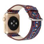 Graphics 1 Leather Band For Apple Watch 42 mm