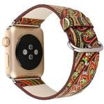 Leather Graphics 3 Band For Apple Watch 42 mm