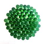 Goldooneh Green Glassy Marbles 100pcs