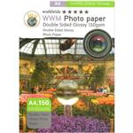 WorldWide Double Side Glossy Photo Paper A4 Pack Of 100