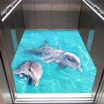 کفپوش سه بعدی آسانسور – دلفین۲