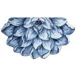 فرش تزیینی زرباف مدل Niloofar سایز 76 × 45 سانتی متر